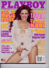 April 2002 Playboy Magazine featuring Tiffany